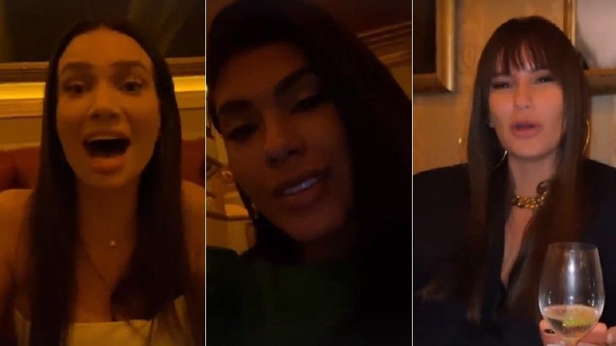 Thais é alvo de zoeira por vídeo enviado ao BBB dizendo ser rainha das tretas - Reprodução/Instagram