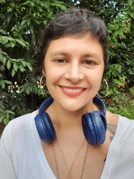 """Paulina é criadora do podcast """"Vozes do Planeta"""" - Arquivo pessoal"""