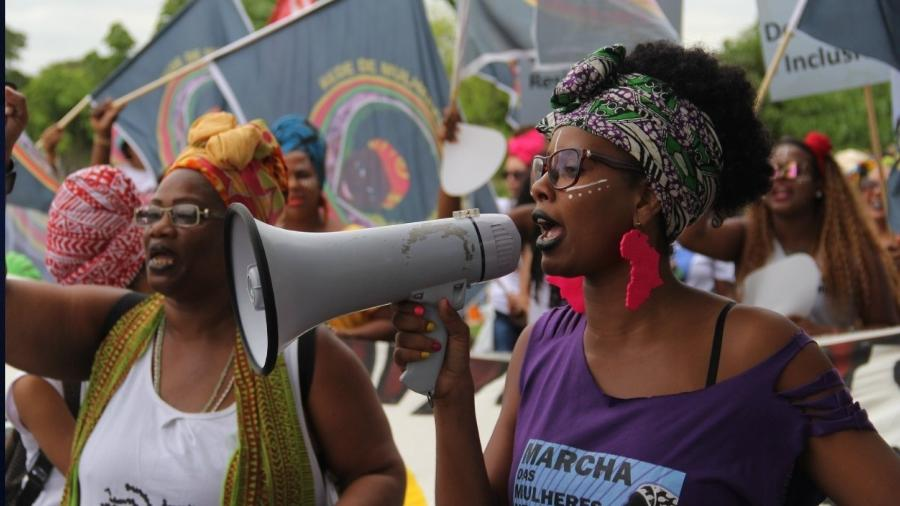 Marcha das mulheres negras  - Tiago Zenero/PNUD-Brasil