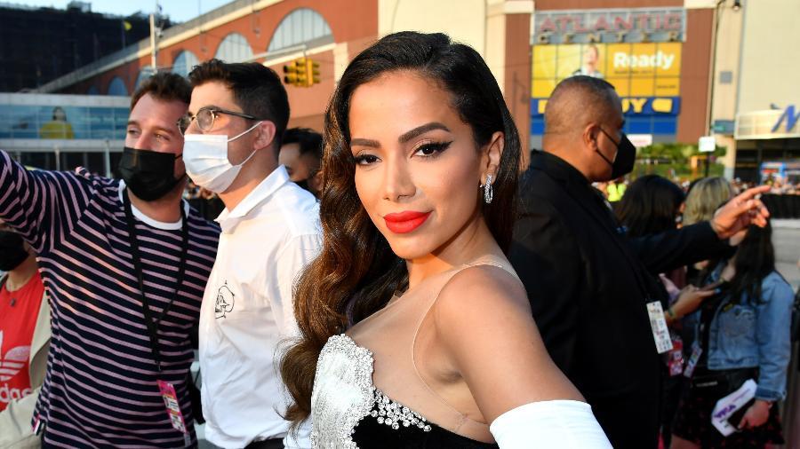 Anitta no tapete vermelho do VMA - Jeff Kravitz/MTV VMAs 2021/Getty Images for MTV/ViacomCBS