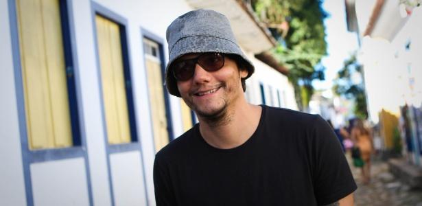 O ator Wagner Moura, na Flip, evento literário em Paraty (RJ) - Zanone Fraissat/Folhapress