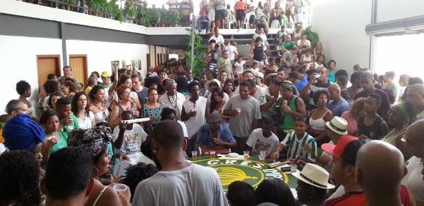 Roda de samba da Serrinha, na Casa do Jongo em Madureira (RJ) - Divulgação