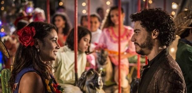 """Martin flerta com Beatriz em """"Velho Chico"""" - Reprodução/Velho Chico/Gshow"""