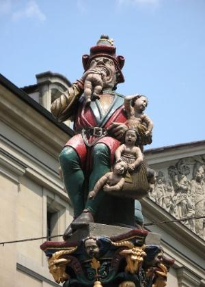 A história desta horripilante estátua remonta a meados do século 16 - Andrew Bossi/Creative Commons