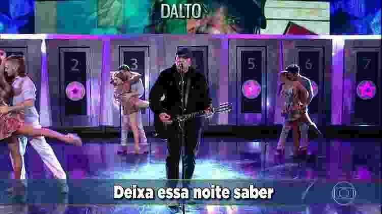 Dalto - Reprodução/TV Globo - Reprodução/TV Globo