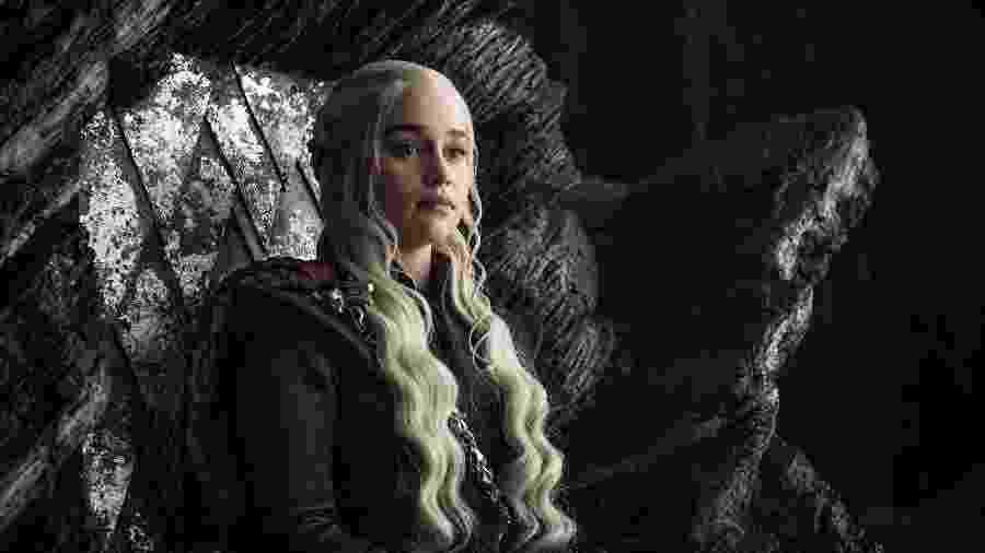 """Daenerys Targaryen em cena do terceiro episódio da sétima temporada de """"Game of Thrones"""" - Divulgação/HBO"""