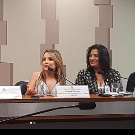 Larissa Manoela é desmentida pela Unesco - Reprodução/Instagram/larissamanoela