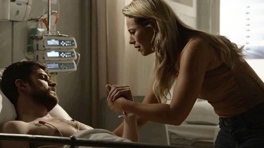 """Em """"A Força do Querer"""", Jeiza chora no hospital ao ver Zeca - Reprodução/Gshow"""