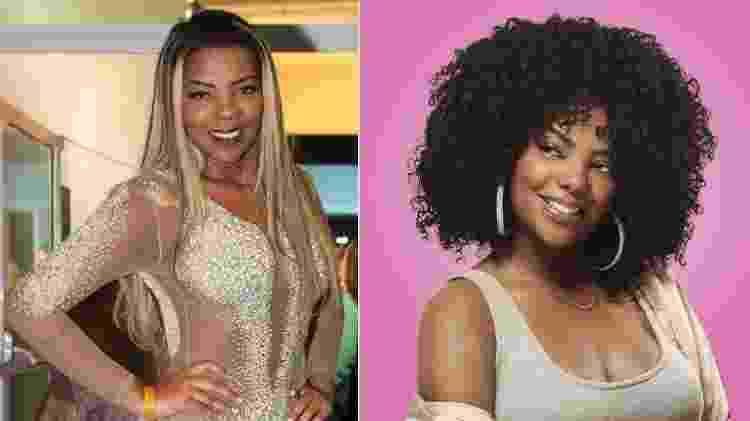 O antes e depois do visual de Ludmilla é pra inspirar toda cacheada - Foto Rio News/Divulgação - Foto Rio News/Divulgação