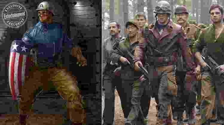 Capitão América em arte de Ryan Meinerding - Reprodução/Ryan Meinerding - Reprodução/Ryan Meinerding