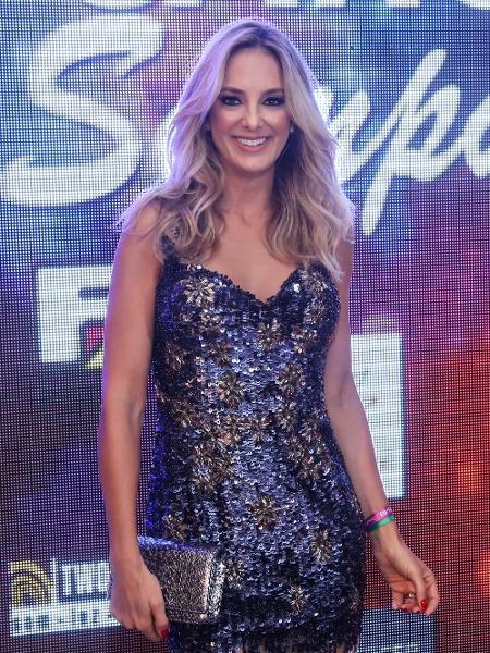 Ticiane Pinheiro na festa da promoter Carol Sampaio, no Rio - Roberto Filho/Brazil News