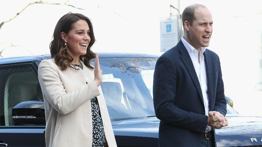 Príncipe William e Kate Middleton - Getty Images