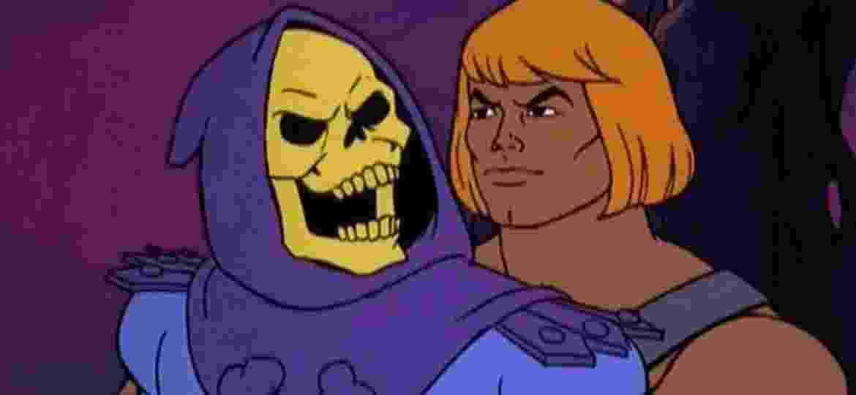Esqueleto e He-Man no desenho dos anos 80 - Reprodução