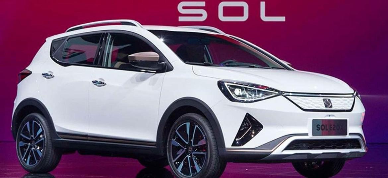 SOL E20X é aposta de JAC e Volkswagen para o mercado de carros elétricos compactos na China; para o Brasil, está descartado - Reprodução