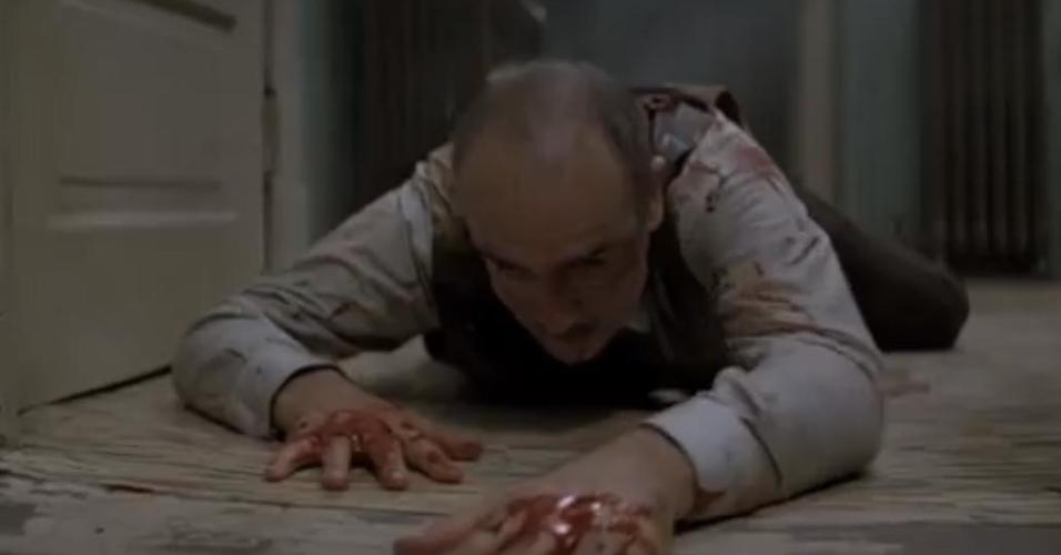 """Sean Connery em cena de """"Os Intocáveis"""" (1987)"""