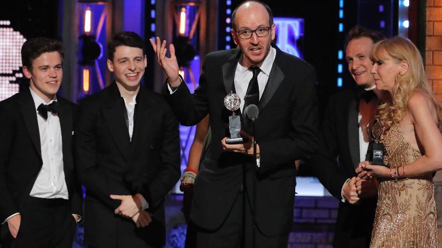 """O autor Jack Thorne fala após vencer prêmio de melhor peça por """"Harry Potter and the Cursed Child"""" - Lucas Jackson/Reuters"""