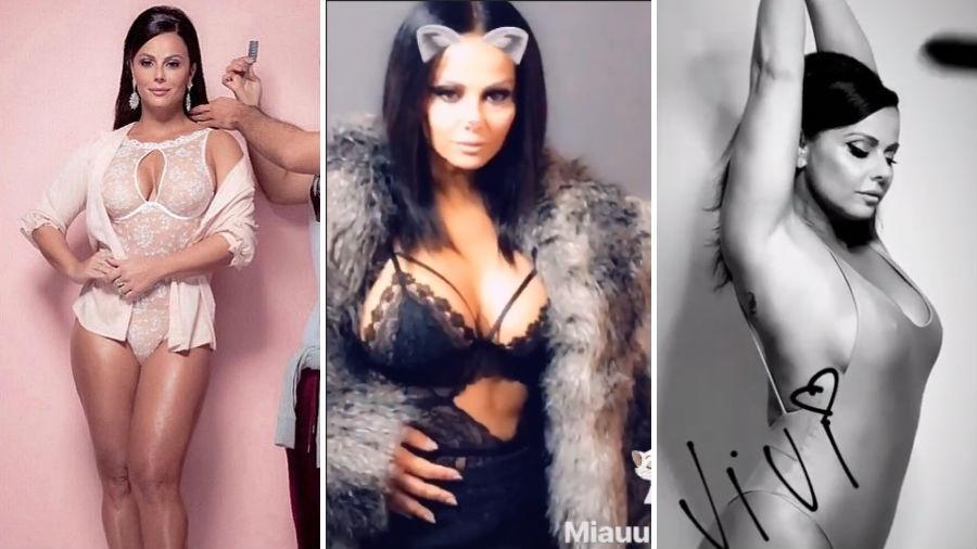 Viviane Araújo faz ensaio de lingerie - Reprodução/Instagram