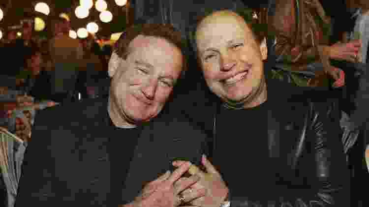Robin Williams e Billy Crystal durante evento em Los Angeles, em 2006 - Kevin Winter/Getty Images - Kevin Winter/Getty Images