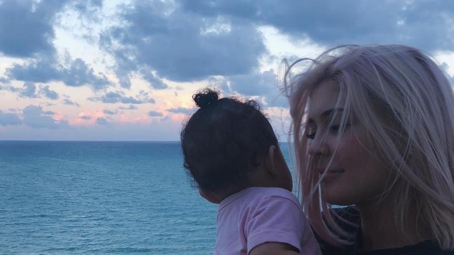 Stormi Webster e a mãe, Kylie Jenner - Reprodução/Instagram