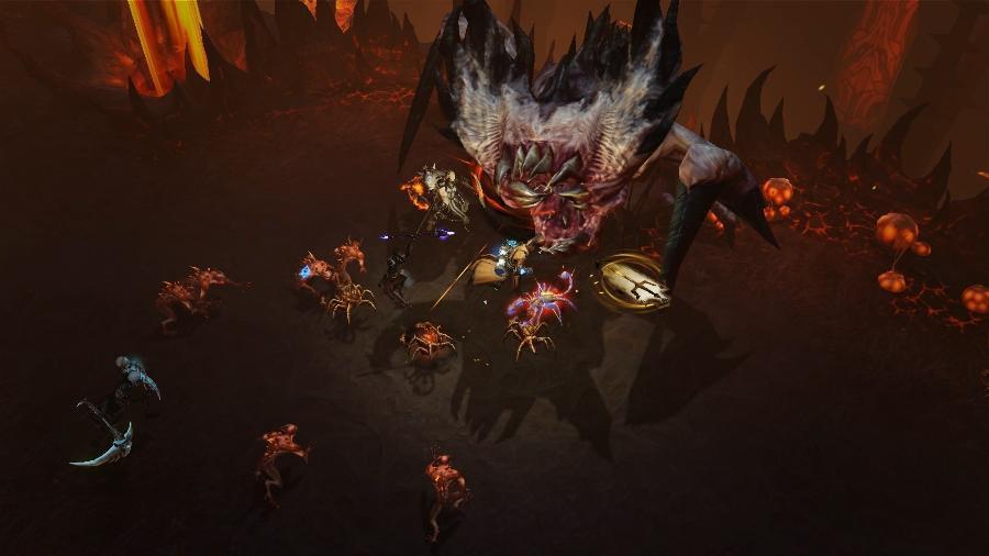 Diablo Immortal é game para celulares da série - Reprodução