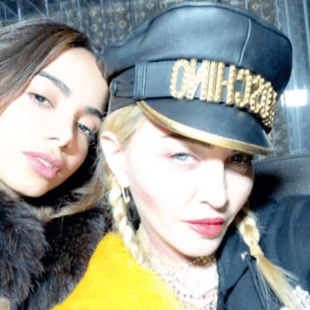 Anitta e Madonna - Reprodução/Instagram