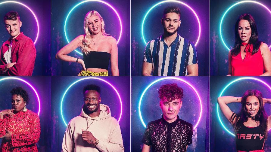 """Os competidores da temporada de estreia de """"The Circle"""" no Reino Unido - Divulgação"""