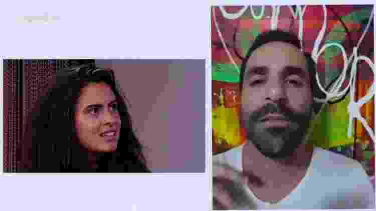 Hana e Vinicius - Reprodução/GloboPlay - Reprodução/GloboPlay