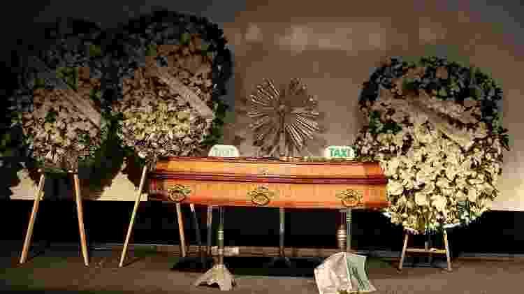 Corpo de Boechat é velado; cerimônia é aberta ao público, depois, ele será cremado - Francisco Cepeda/AgNews