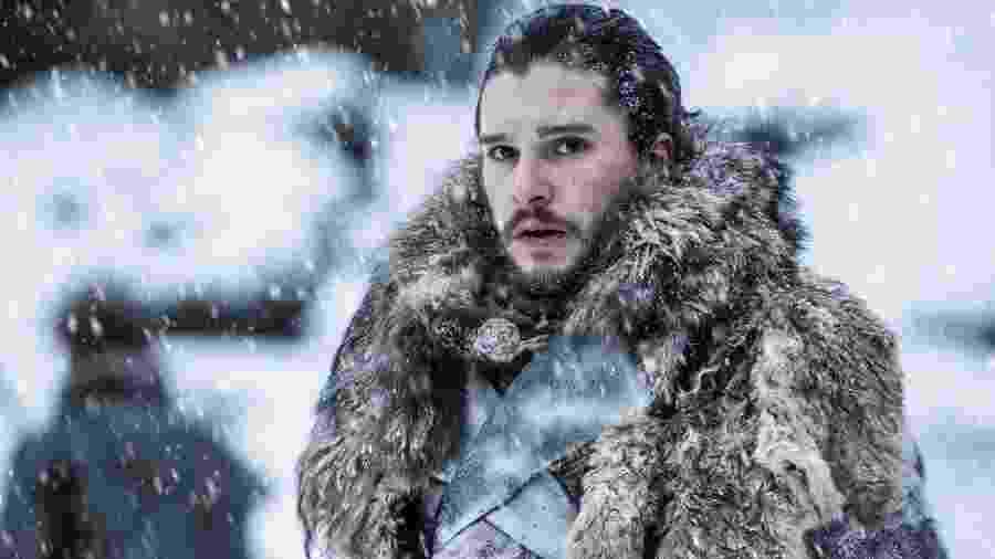 """Jon Snow (Kit Harington) em cena de """"Game of Thrones"""" - Divulgação"""