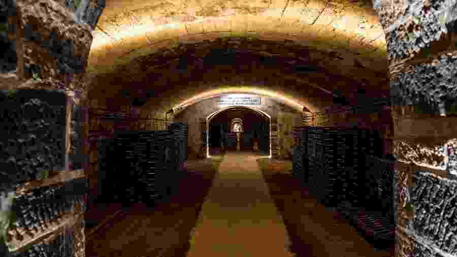 As Caves Patriarche ficam sob as ruas da cidade de Beaune, na Borgonha - ANNEEMMANUELLE_THION/Caves Patriarche