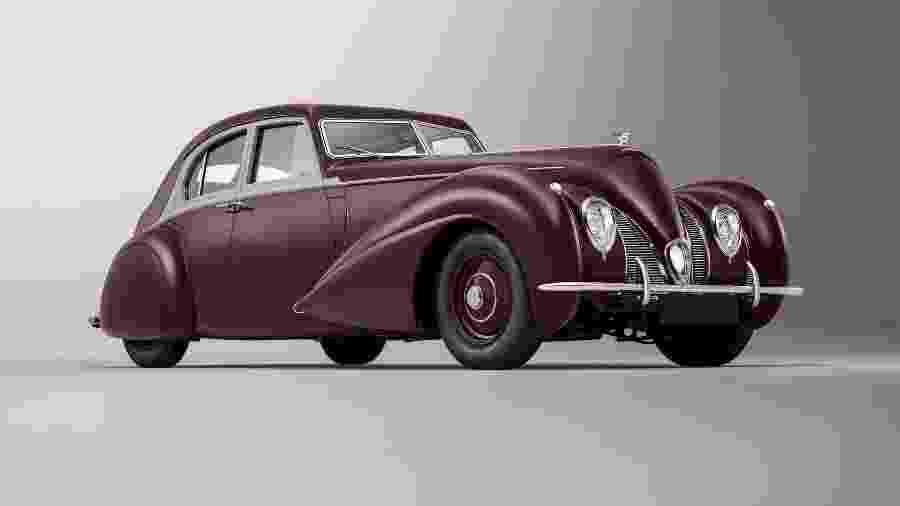 Bentley Corniche - Bentley/Divulgação