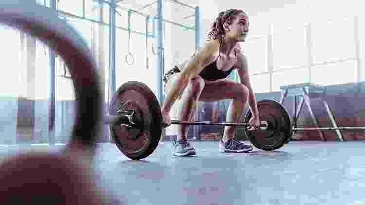 Levantamento terra, exercício, musculação, treino - iStock - iStock