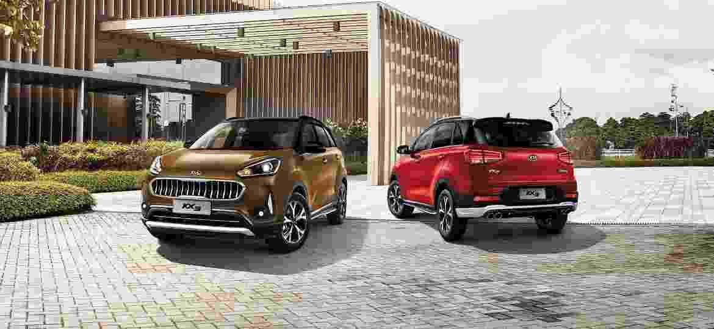 SUV compacto KX3 foi desenvolvido para o mercado chinês virá importado do México com motor 1.6 de 125 cv - Divulgação