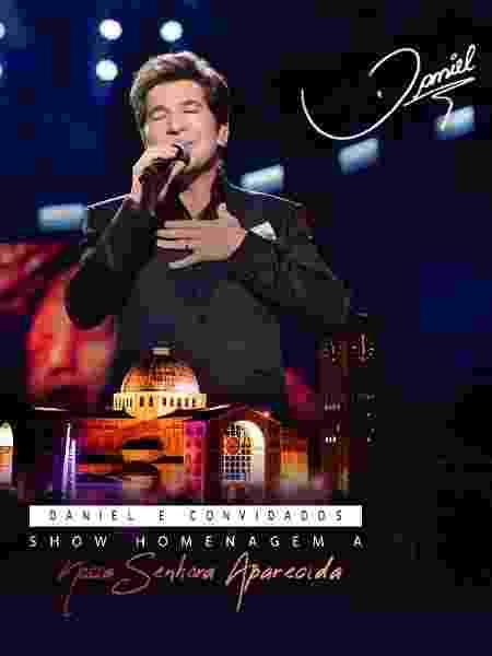 Capa do DVD do cantor Daniel - Divulgação - Divulgação