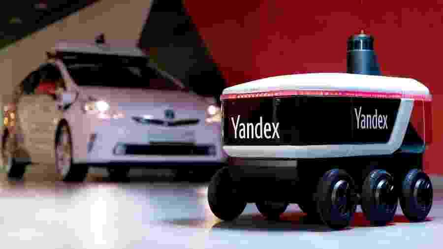 A Yandex já testou seus carros autônomos durante nevascas e chuvas em Moscou - Divulgação/Yandex