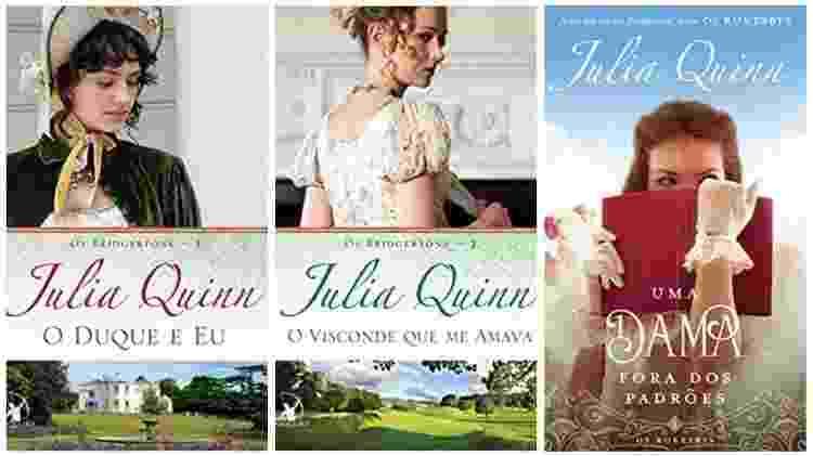 Romances de Julia Quinn - Divulgação - Divulgação