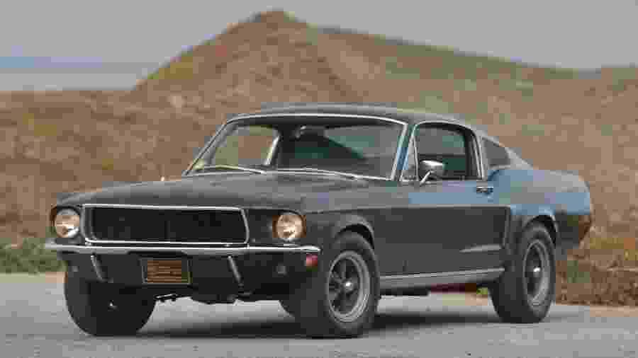 Mustang GT 1968 usado no filme Bullitt - Divulgação