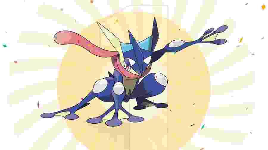 Greninja teve 140.559 votos na ação feita pela The Pokémon Company em parceria com o Google - Reprodução/The Pokémon Company