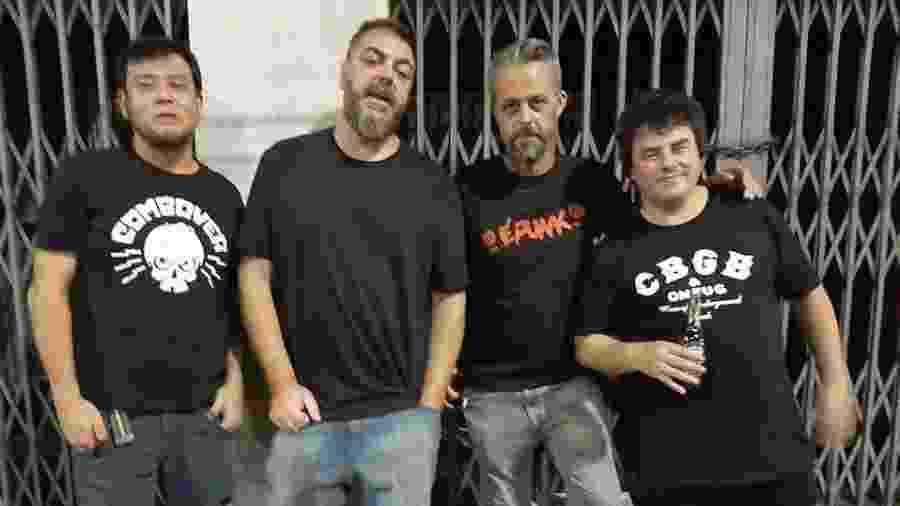 Banda punk Aparelho lança álbum de estreia em abril - Reprodução Facebook