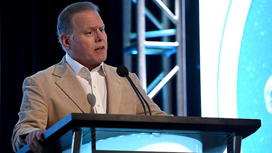 David Zaslav, CEO do canal de televisão Discovery - Amanda Edwards/Getty Images for Discovery, Inc.