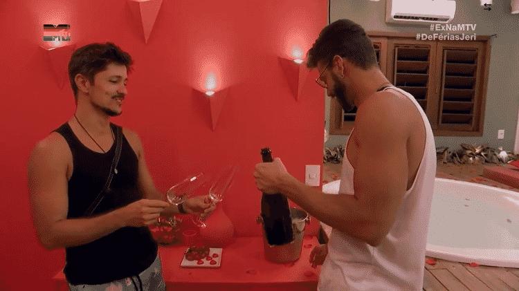 rafa e matheus - reprodução/MTV Brasil - reprodução/MTV Brasil