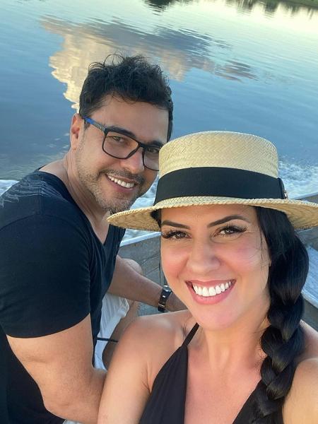 Graciele Lacerda e Zezé di Camargo - Reprodução/Instagram