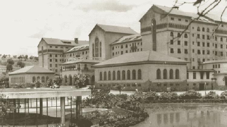 Grande Hotel e Termas de Araxá Antiga - Divulgação Grupo Tauá - Divulgação Grupo Tauá