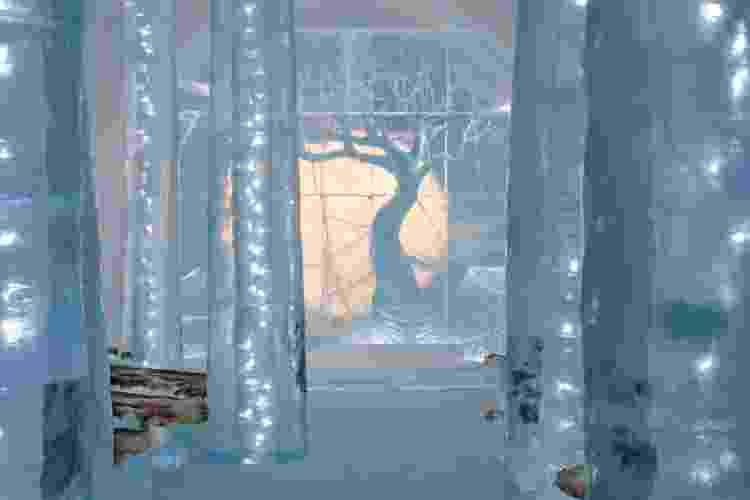 Floresta congelada do Icehotel - Divulgação - Divulgação