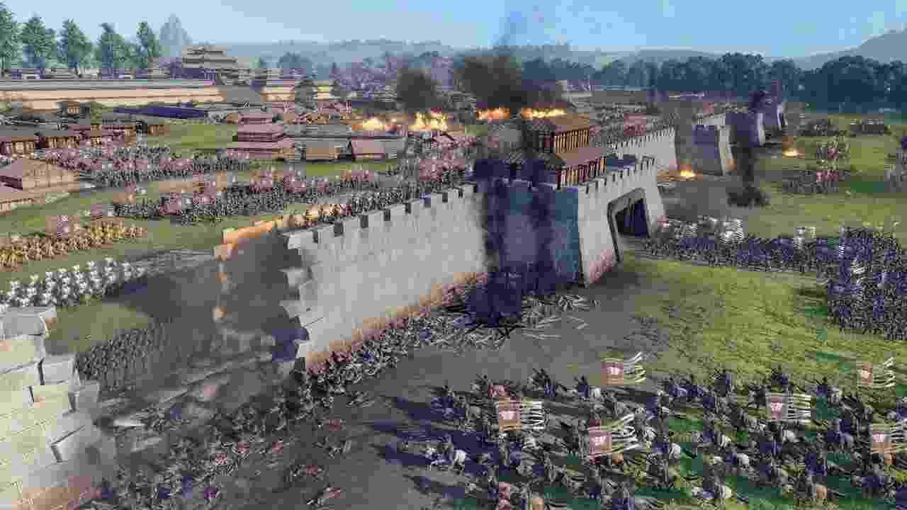 Total War Three Kingdoms - Reprodução