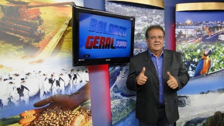 Vítima da covid-19, Paulo Becker era apresentador da edição local do Balanço Geral - Reprodução/Facebook