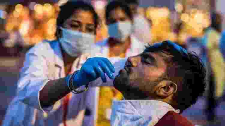 Mais 1,8 mil devotos tiveram resultado positivo em exames de covid nos últimos dias - Getty Images - Getty Images