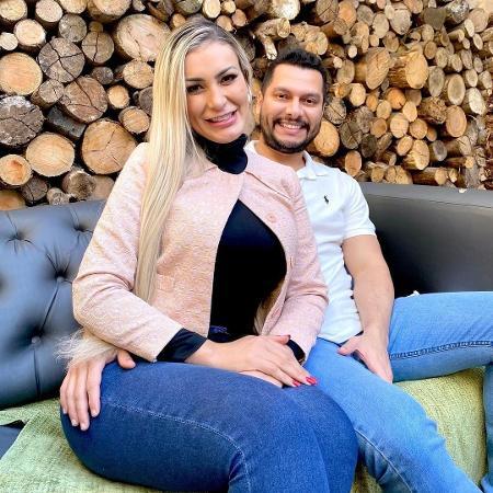"""Andressa Urach e marido: """"minha propriedade"""" é o caminho da violência para muitos casais - Instagram"""
