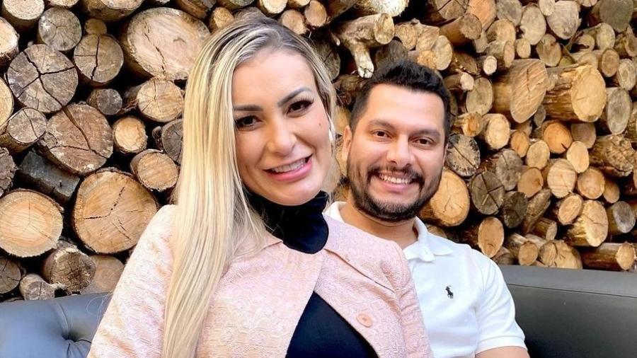 Andressa Urach e marido - Instagram