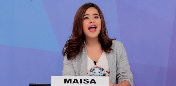 """Maisa Silva participa do """"Jogo dos Pontinhos"""" no """"Programa Silvio Santos"""" - Lourival Ribeiro/SBT"""